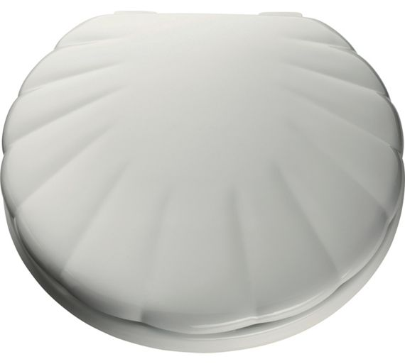 buy home shell toilet seat white at your. Black Bedroom Furniture Sets. Home Design Ideas