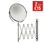 more details on HOME Extendable Round Chrome Shaving Mirror.
