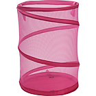 more details on ColourMatch Linen Bin - Funky Fuchsia.