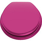 more details on ColourMatch Toilet Seat - Funky Fuchsia.