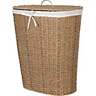 more details on Living Natural Seagrass Linen Bin.