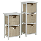 more details on 2 and 3 Drawer Storage Unit - Natural.