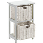 more details on 2 and 3 Drawer Unit - White.