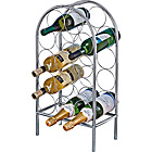 more details on Living 14 Bottle Chrome Wine Rack.