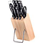 more details on 8 Piece Wooden Knife Block Set - Black.