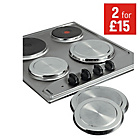 more details on HOME Set of 4 Stainless Steel Hob Covers.