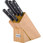 more details on Sabatier Professional 5 Piece Knife Block Set - Black.