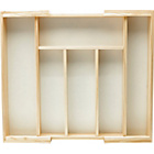more details on Wooden Expanding Cutlery Drawer.
