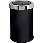 more details on HOME 50 Litre Touch Top Kitchen Bin - Black.