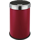 more details on Living 50 Litre Press Top Kitchen Bin - Red.