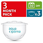more details on Aqua Optima 30 Day Water Filter Cartridges - Pack of 3.