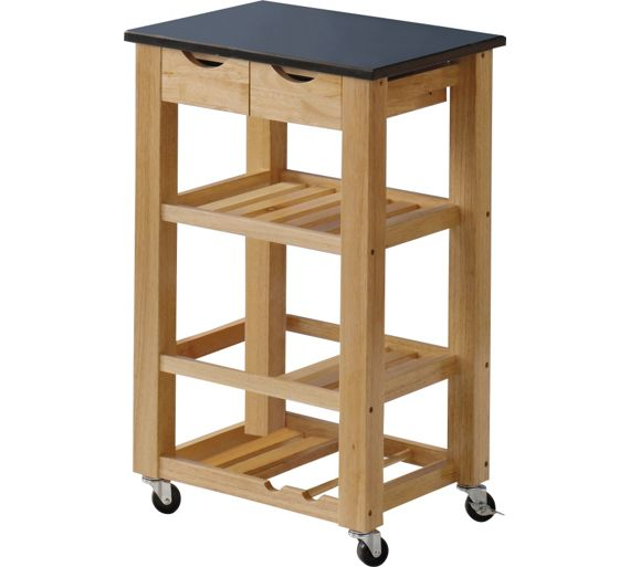 Kitchen Trolley Accessories: Buy Hygena Granite Top Kitchen Trolley At Argos.co.uk