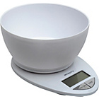 more details on Salter Essentials Scale with 1.5 Litre Bowl - White.