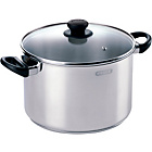 more details on Pyrex Stainless Steel 22cm Stockpot and Lid.