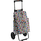 more details on Typhoon Modern Butterfly Retractable Handle Shopping Trolley