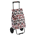 more details on Typhoon Red Flowers Retractable Handle Shopping Trolley.