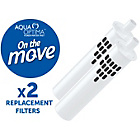 more details on Aqua Optima On The Move Water Filter Cartridges - 2 Pack.