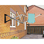 more details on Brabantia 4-Arm Wall Fix Outdoor Clothes Airer.
