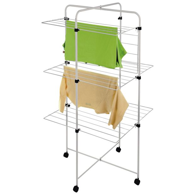 buy small tower 20m indoor clothes airer at. Black Bedroom Furniture Sets. Home Design Ideas