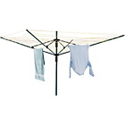 more details on Living 55m 4-Arm Outdoor Rotary Clothes Airer.