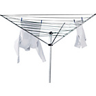 more details on Argos Value Range 30m 3-Arm Outdoor Rotary Clothes Airer.