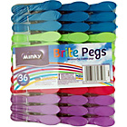 more details on Minky Brites Colourful Pegs - 36 Pack.
