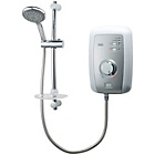 more details on Triton White Brushed Steel Effect 9.5kW Shower.