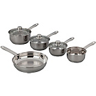 more details on Stainless Steel 5 Piece Pan Set.