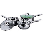 more details on Stainless Steel 3 Piece Pan Set.