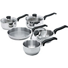 more details on Ready Steady Cook Stainless Steel 5 Piece Pan Set.