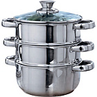 more details on 18cm Stainless Steel 3 Tier Steamer.