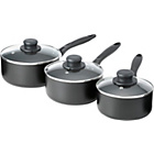 more details on Non-Stick Aluminium 5 Piece Pan Set - Black.