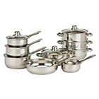 more details on Living Stainless Steel 9 Piece Pan Set.