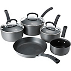 more details on Tefal Expert Cook Non-Stick Hard Anodised 5 Piece Pan Set.