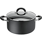 more details on HOME Living 24cm Non-Stick Aluminium Stock Pot.