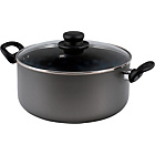 more details on HOME 26cm Non-Stick Aluminium Stock Pot.