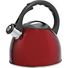 more details on HOME Translucent 2 Litre Stove Top Kettle - Red.