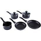 more details on Prestige Cushion Smart Non-Stick 5 Piece Pan Set - Black.