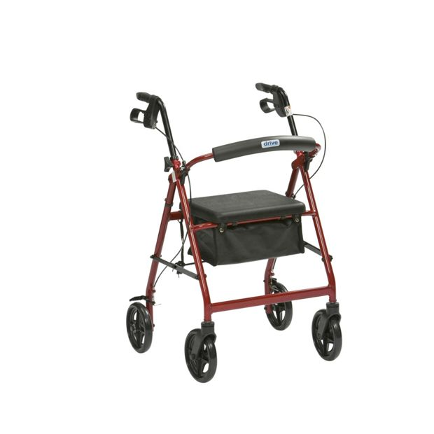 Buy four wheel rollator aluminium at your for Mobility walker