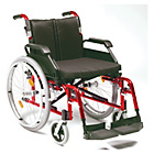 more details on Deluxe Aluminium Self Propelled Wheelchair.
