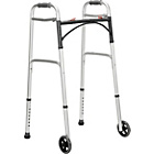 more details on Folding Walking Frame with Wheels - Height Adjustable.