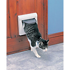 more details on Staywell 4-Way Locking Pet Door with Tunnel - White.