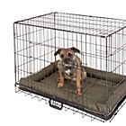 more details on Medium Pet Cage and Mat - Black.
