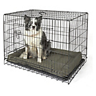 more details on Large Pet Cage and Mat - Black.