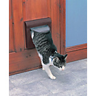 more details on Staywell Medium 4-Way Locking Pet Door with Tunnel - Brown.