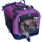 more details on Fold Flat Fabric Pet Carrier - Large.