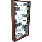 more details on Phoenix Glass Shelved CD/DVD Storage Unit.