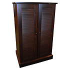 more details on Multi-media DVD/CD Cupboard - Walnut.