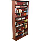 more details on Harrogate Mahogany CD, DVD and Blu-ray Shelving Cabinet.