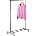 more details on Adjustable Chrome Plated Clothes Rail - Grey.